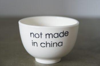 BOL À DEJEUNER NOT MADE IN CHINA