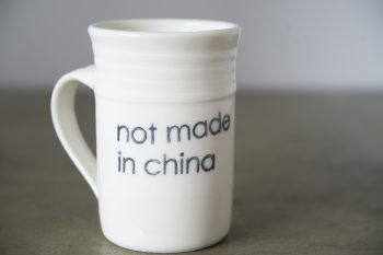 TASSE MOYENNE NOT MADE IN CHINA